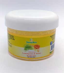 lemongrass & Honey Hair Gel